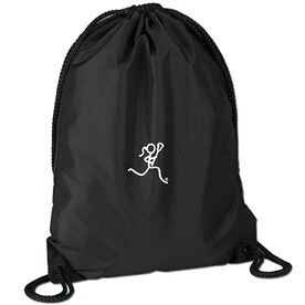 Lacrosse Girl (Stick Figure-no word) Sport Pack Cinch Sack