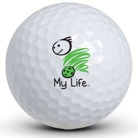 My Life - Soccer (Male) Golf Balls