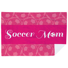 Soccer Premium Blanket - Mom Stripe