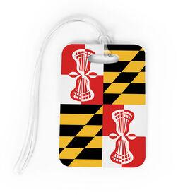 Guys Lacrosse Bag/Luggage Tag - Maryland