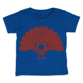 Soccer Toddler Short Sleeve Tee - Turkey Player