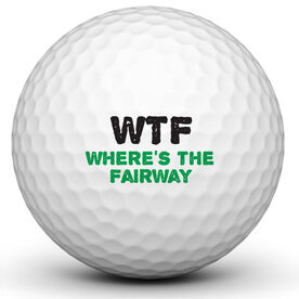 WTF Fairway Golf Ball