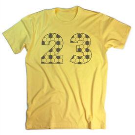 Vintage Soccer T-Shirt - Custom Numbers