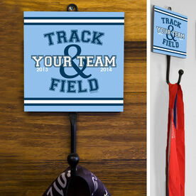 Track and Field Medal Hook Team