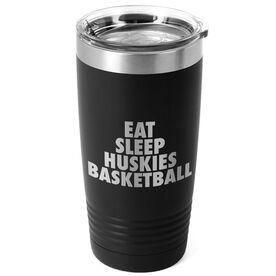 Basketball 20 oz. Double Insulated Tumbler - Personalized Eat Sleep Basketball