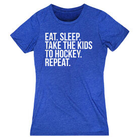 Hockey Women's Everyday Tee - Eat Sleep Take The Kids To Hockey