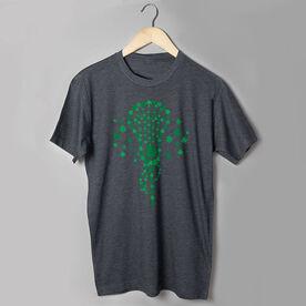 Girls Lacrosse Short Sleeve T-Shirt - Shamrock Lacrosse Stick