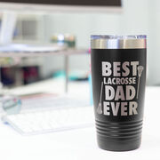 Guys Lacrosse 20 oz. Double Insulated Tumbler - Best Dad Ever