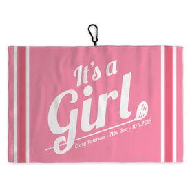 Golf Bag Towel Its A Girl