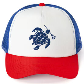 Lacrosse Trucker Hat Sea Turtle