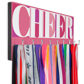 Cheerleading Hooked on Medals Hanger - Cheerleading Mosaic
