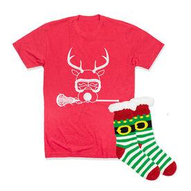 Girls Lacrosse Gift Set - Reindeer