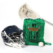 Lacrosse Sport Pack Cinch Sack My Goal Lacrosse