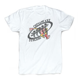 Vintage Tee - Chesapeake Synchronized Skating Logo