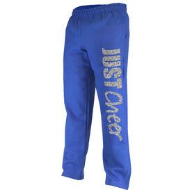 Cheerleading Fleece Sweatpants Just Cheer