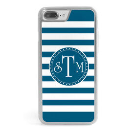 Personalized iPhone® Case - Monogram Stripes