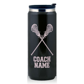 Stainless Steel Travel Mug Lacrosse Girls Coach