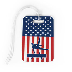 Gymnastics Bag/Luggage Tag - USA Gymnastics Guy