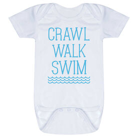 Swimming Baby One-Piece - Crawl Walk Swim