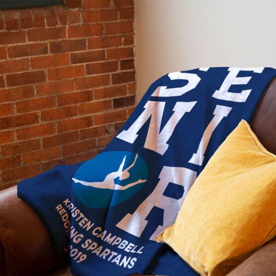 Gymnastics Premium Blanket - Personalized Senior