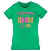 Cheerleading Women's Everyday Tee - Cheerleader From Bow 2 Toe