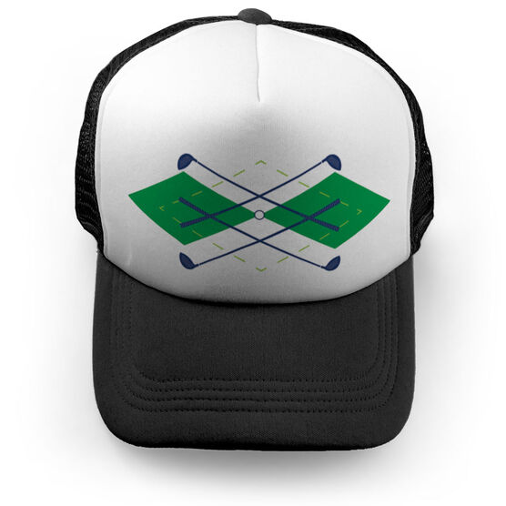 Golf Trucker Hat - Argyle ... 9b665497381