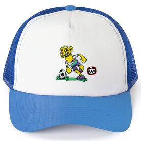 Seams Wild Soccer Trucker Hat - Lionardo
