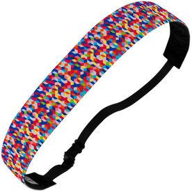 Athletic Juliband No-Slip Headband - Primary Prism