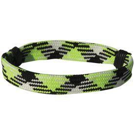 Sport Lace Bracelet Neon Argyle Adjustable Lace Bracelet