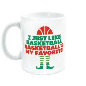 Basketball Coffee Mug - Basketball's My Favorite