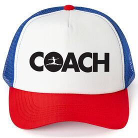 Gymnastics Trucker Hat - Coach
