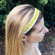 Tennis Juliband No-Slip Headband - Tennis Stripe Pattern