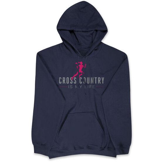 Cross Country Hooded Sweatshirt - Cross Country is My Life