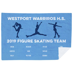 Figure Skating Premium Blanket - Team Roster
