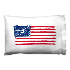 Gymnastics Pillowcase - American Flag