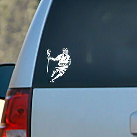 Vinyl Car Decal Dodger Silhouette