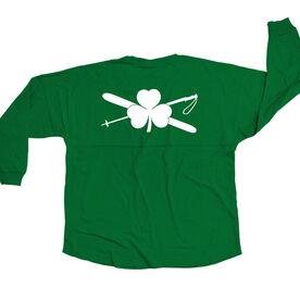 Skiing Statement Jersey Shirt Lucky Ski