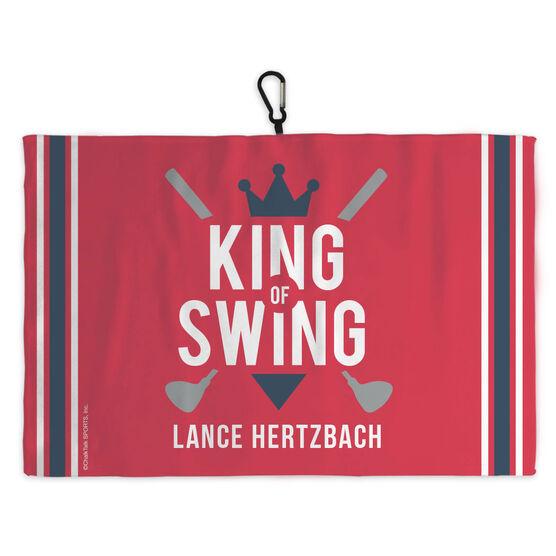 Golf Bag Towel King of Swing