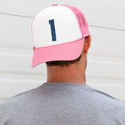 Trucker Hat - Navy Custom Number