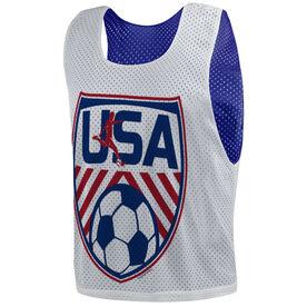 Soccer Pinnie - USA Soccer
