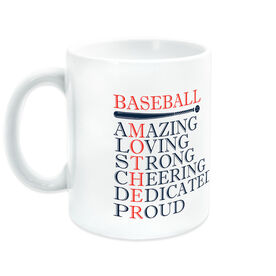 Baseball Coffee Mug - Mother Words