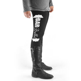 Cross Training High Print Leggings Bar Belle