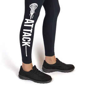 Girls Lacrosse Leggings - Attack
