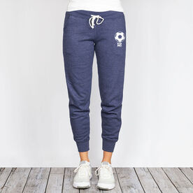 Soccer Joggers - Custom Ball with Number