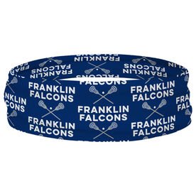 Guys Lacrosse Multifunctional Headwear - Custom Team Name Repeat RokBAND