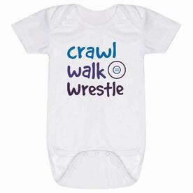 Wrestling Baby One-Piece - Crawl Walk Wrestle