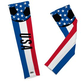 Soccer Printed Arm Sleeves Soccer USA