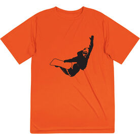 Snowboarding Short Sleeve Performance Tee - High Altitude