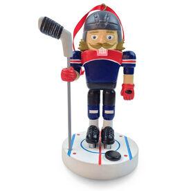 Hockey Nutcracker Resin Ornament