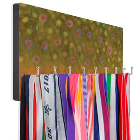 Fly Fishing Hook Board Brook Trout Scales